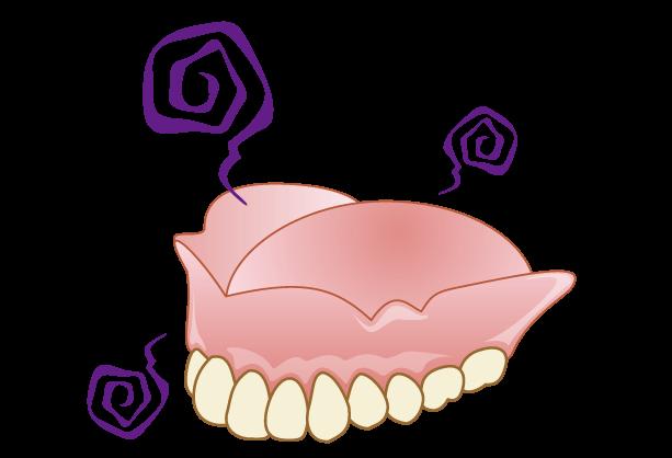 入れ歯にもメンテナンスは必要です
