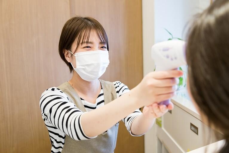 コロナウイルス感染予防患者さまへのお願い