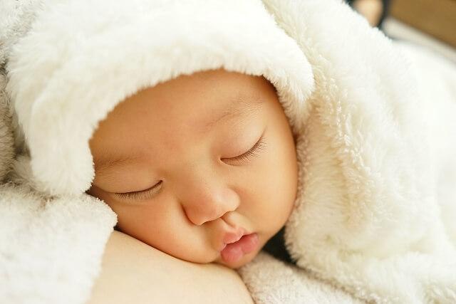 赤ちゃんのお口は「無菌状態」